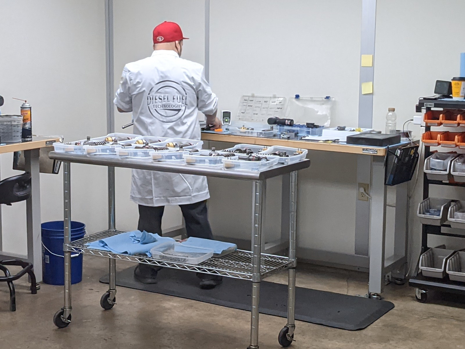 DFT Cleanroom assembly