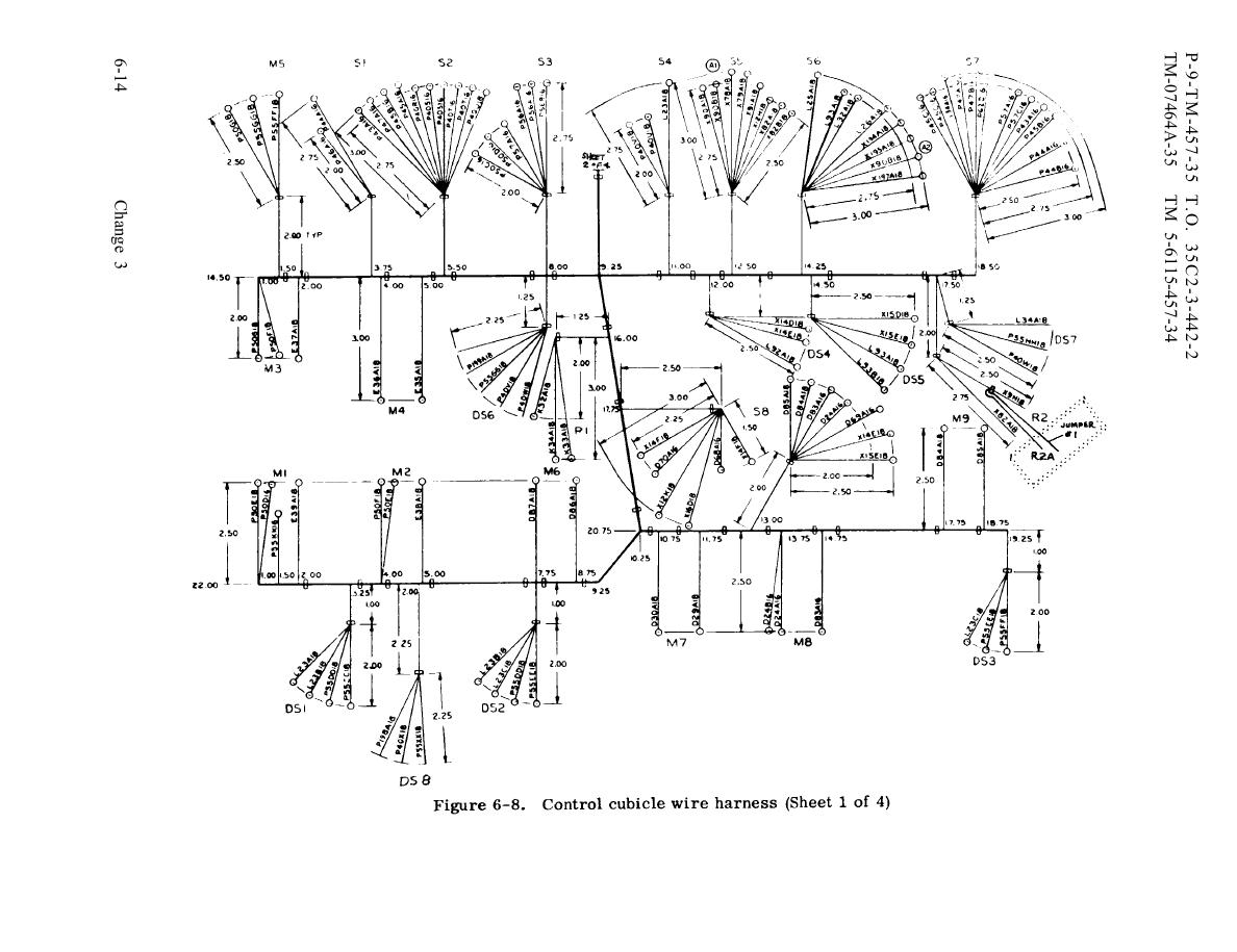 Figure 6 8 Control Cubicle Wire Harness Sheet 1 Of 4