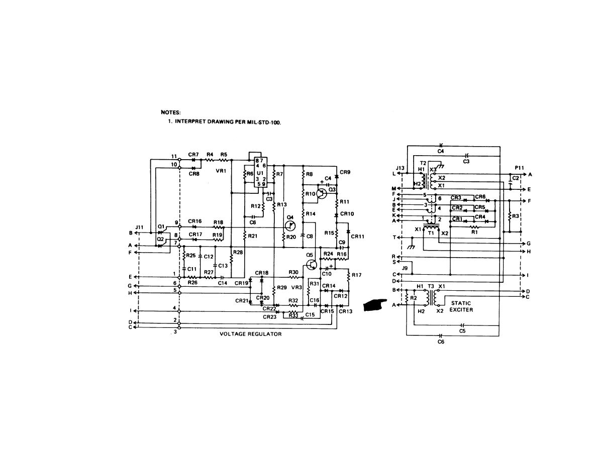 Figure 5 30 Static Exciter And Voltage Regulator Assembly