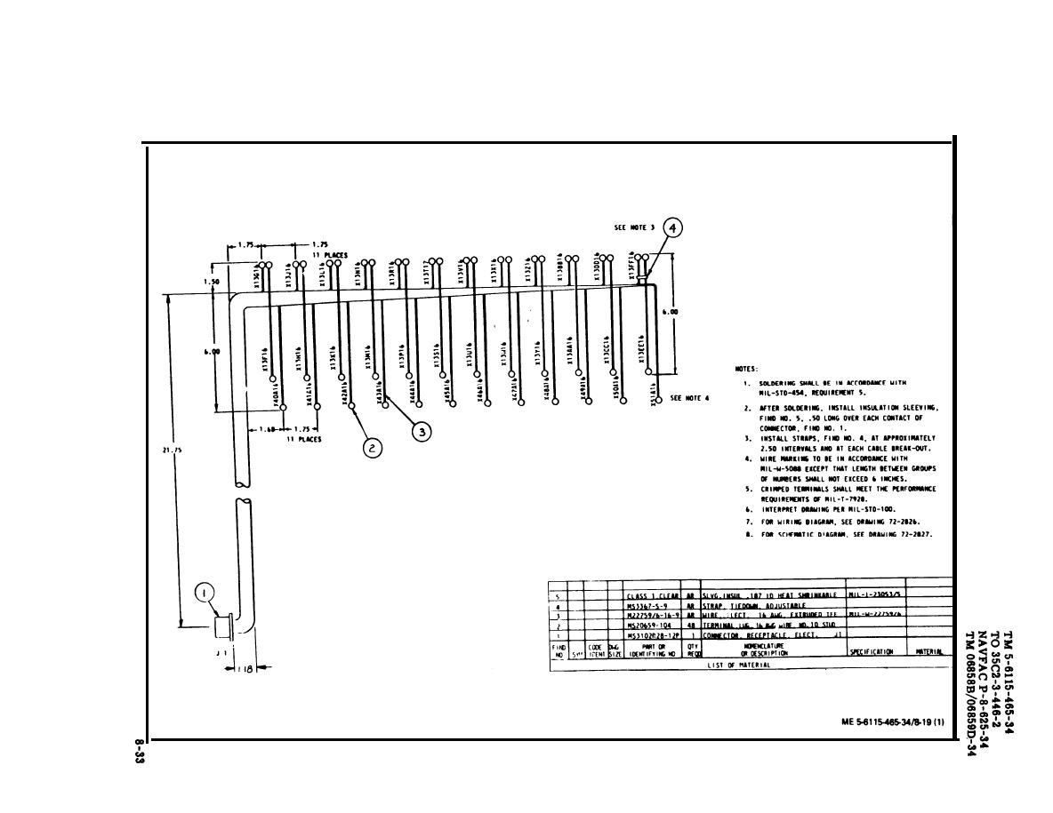 Figure 8 19 Top Load Bank Wiring Harness Sheet 1 Of 2