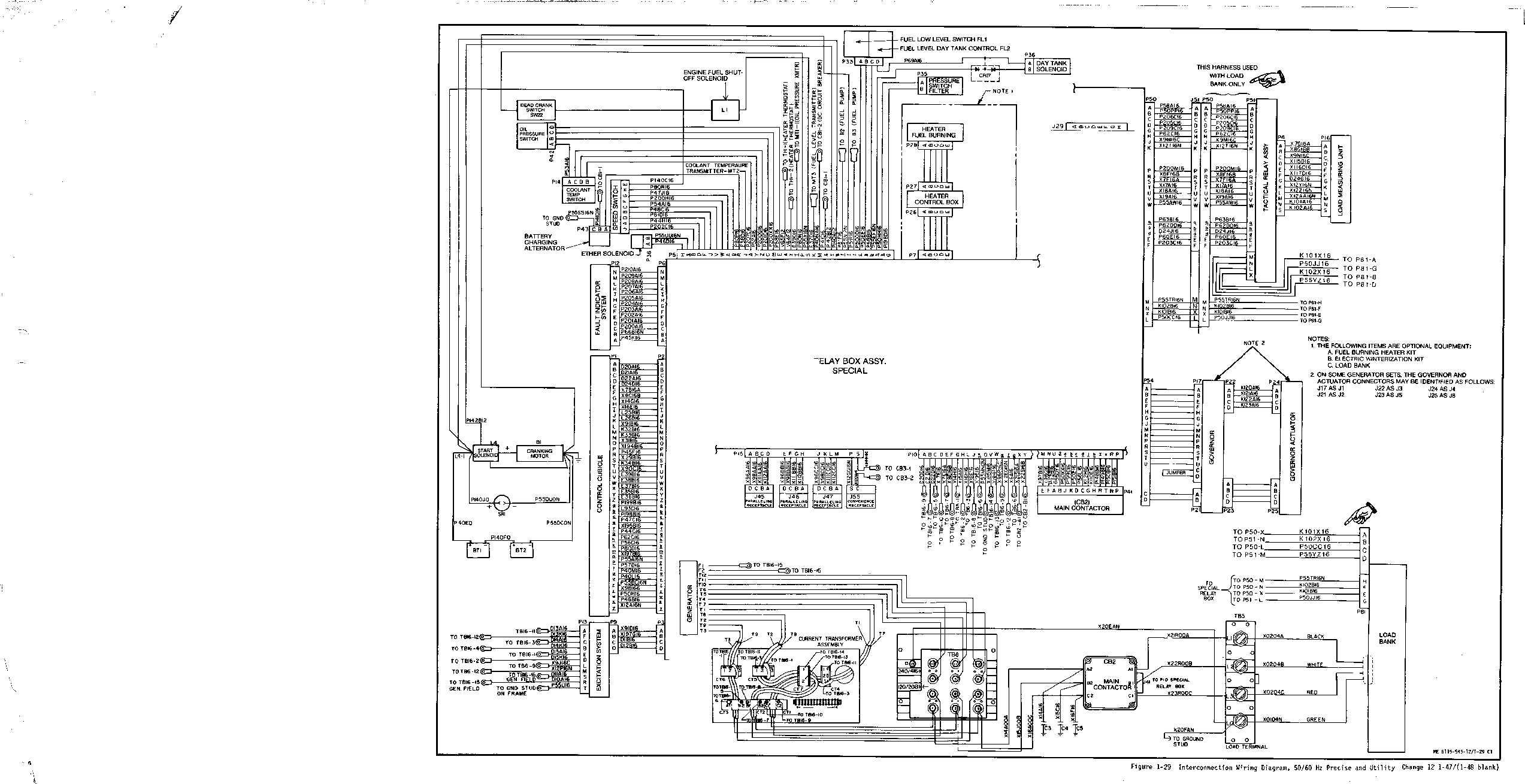 Figure 1 29 Interconnection Wiring Diagram