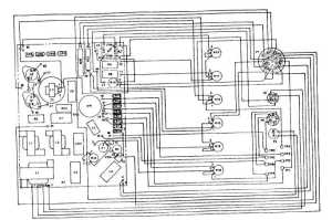 Figure 372 5060 Hz Governor Control Unit Wiring Diagram