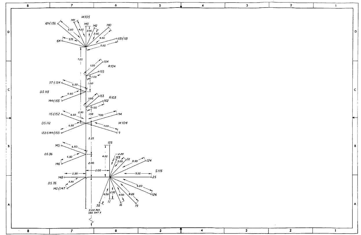 Fo 22 Cabinet B Door Wiring Harness Sheet 6 Of 8