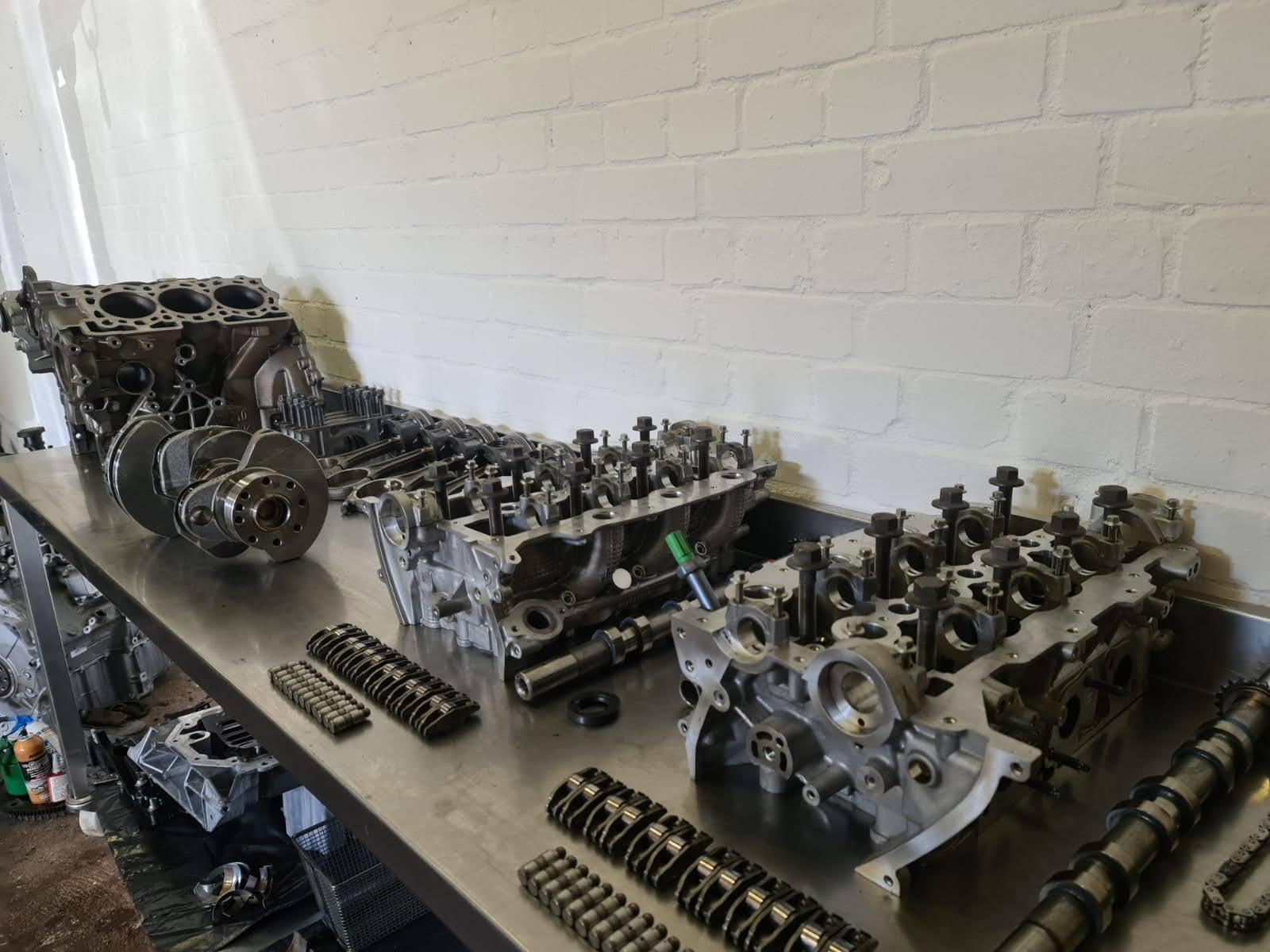 Jaguar tdv6 engine rebuild
