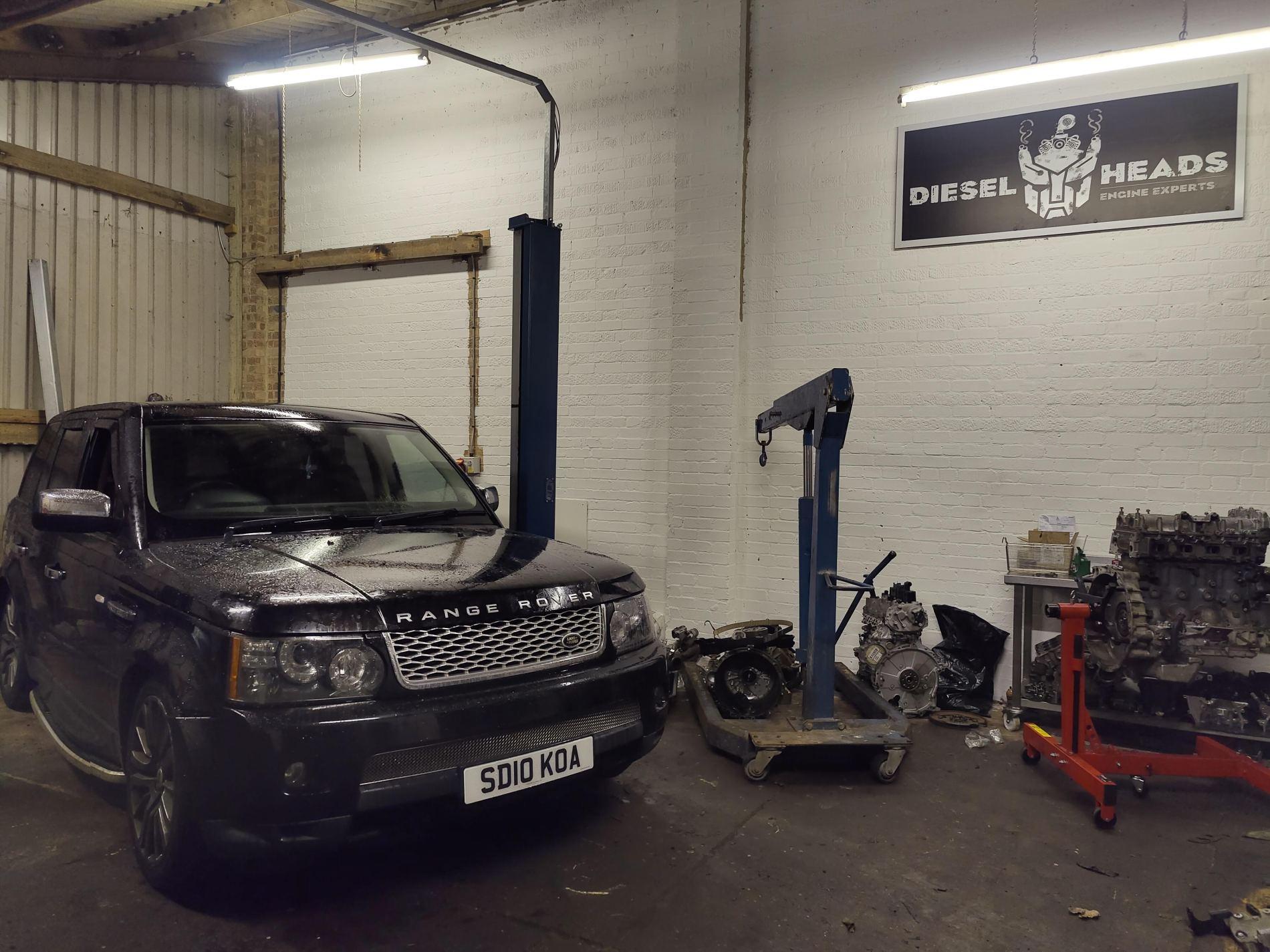 Range Rover 3.0 engine rebuild