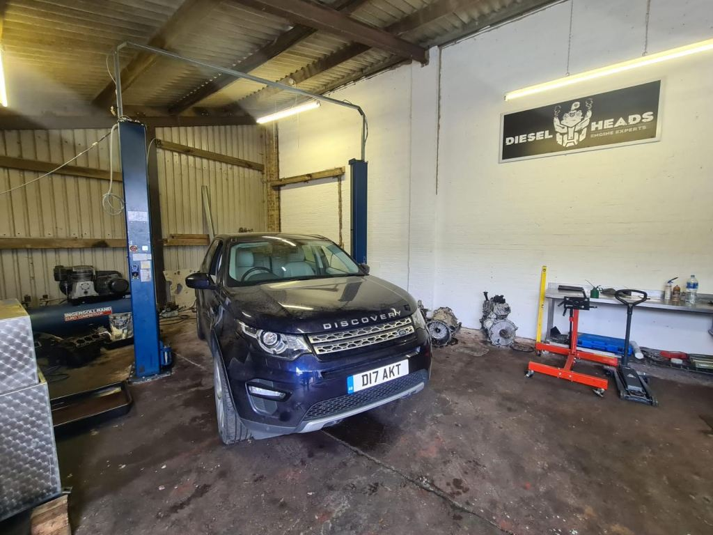 Land Rover discovery sport engine