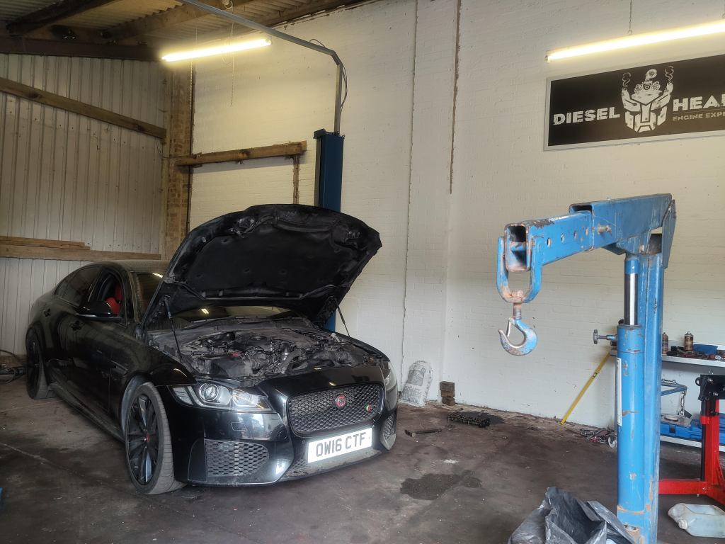 jaguar engine rebuild
