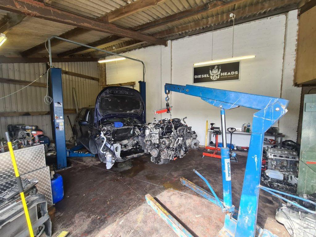 land rover 2.0 engine rebuild
