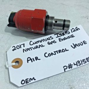 2017 Cummins Natural Gas Engine AIR CONTROL VALVE 4315896 OEM