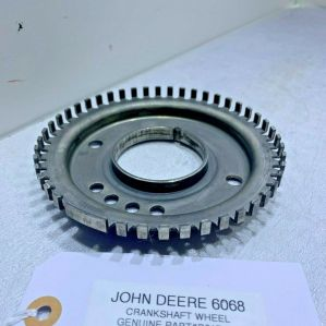 John Deere 4045T Crankshaft Wheel R517471 GENUINE OEM READY TO SHIP