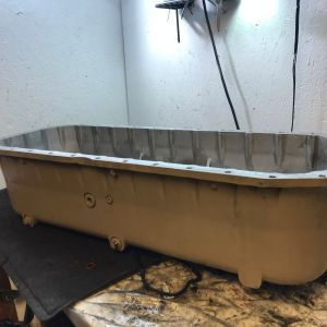 Cummins QSX15 Diesel Engine Oil Pan 3103453 OEM