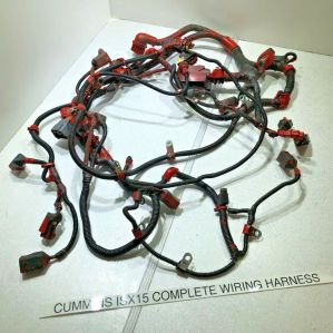 COMPLETE CUMMINS ISX15  DIESEL ENGINE MAIN WIRING HARNESS 5339312 OEM