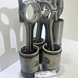 (SET OF 4) Detroit Diesel 8V92 (MARINE) Pistons and Connecting Rods 514469 OEM