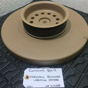 Cummins ISX15 Harmonic Balancer 4101884 with the Pulley OEM
