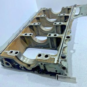 International DT466E Engine Block Riser 1838258C4