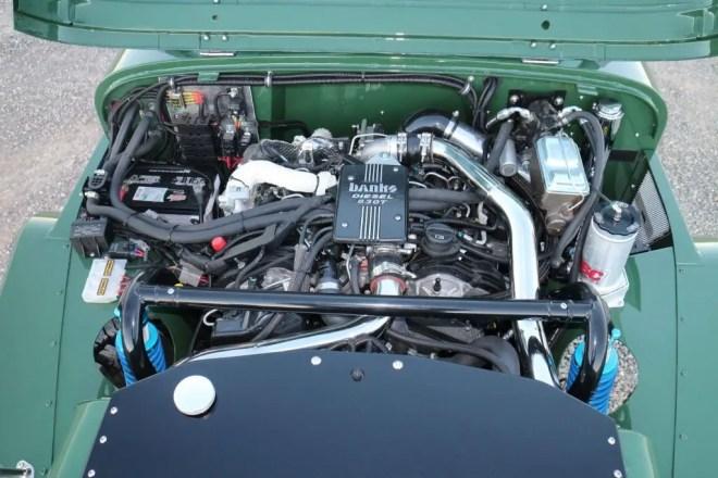 """Diesel Jeep: An """"All-New"""" CJ8 Scrambler"""