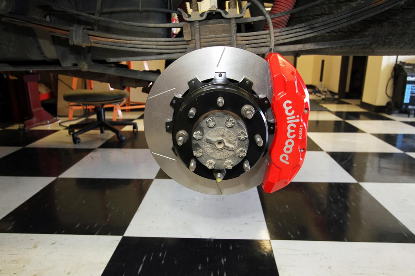 Super Stoppers: Wilwood's Big Brake Upgrade for Ford F250s