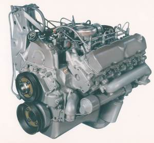Ford's 1st Diesel Pickup Engine