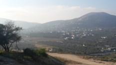 Sicht auf die Samaria-Berge