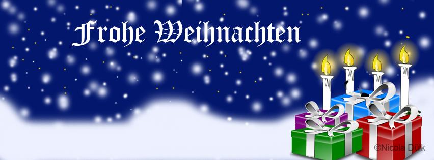 Kostenlose Titelbilder für Facebook Chronik - Weihnachten (4/6)