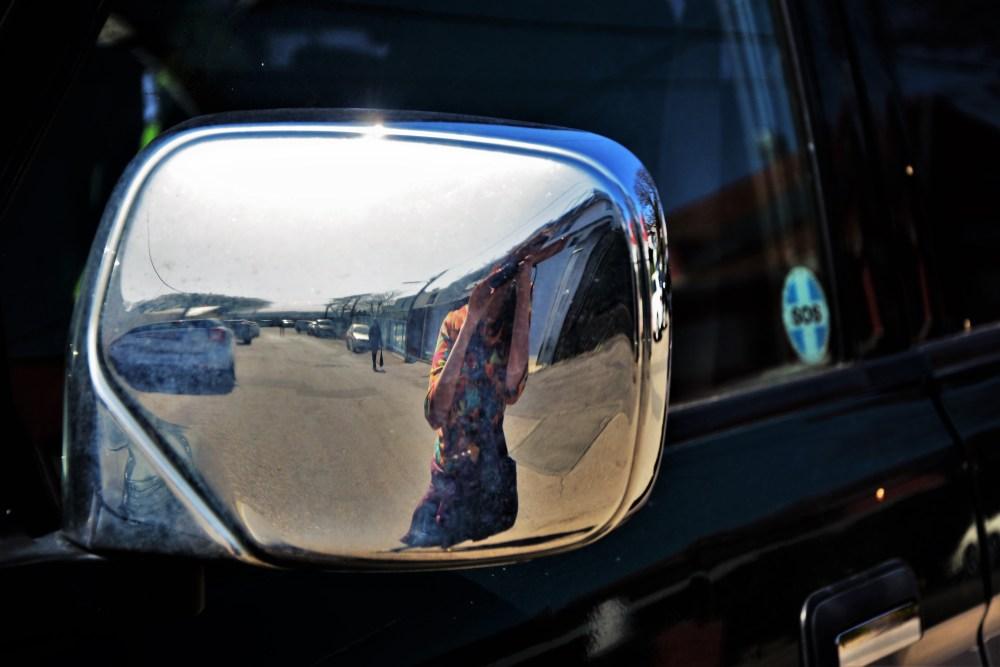 Rückspiegel © Silvia Springer