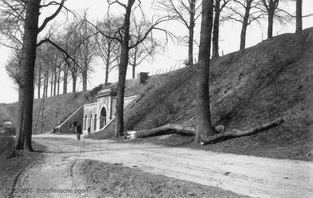 Schaffense Poort in 1921