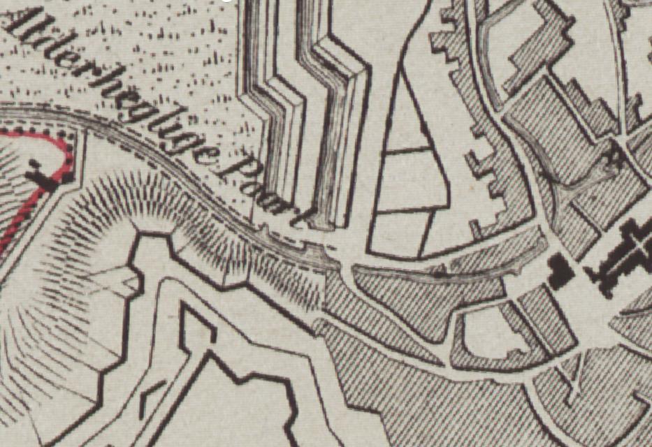 Zichemse Poort Anno 1842