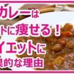 【ダイエット食事】朝ごはんにカレーを食べると痩せる!楽して痩せる方法 姫ごはん