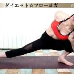 【ヨガ】必ず痩せる!ダイエットフローヨガの脂肪燃焼効果がスゴイ!「中級者向け」#71