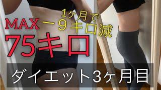 【OLのダイエット生活】月曜断食/運動なしで1ヶ月マイナス9キロ。3ヶ月で15キロ減。ダイエット生活について呟きました。