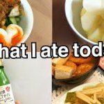 14kg痩せた私の1日の食事 産後ダイエット what i ate today 料理