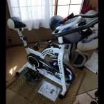 スピンバイクダイエット 0214風呂上がり0215から1週間トレーニング実施