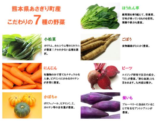 くまもとスムージー 野菜