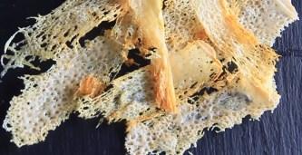 patatas cetogenicas de queso parmesano