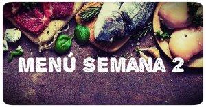 menu cetogenico semana 2