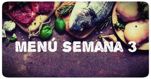 menu cetogenico semana 3