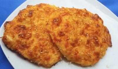 tortitas de coliflor cetogénicas