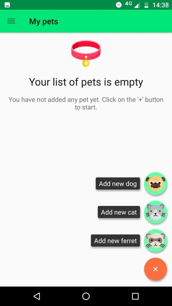 comida para cachorro aplicativo dica