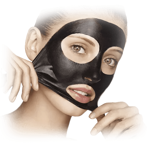 black mask crema viso