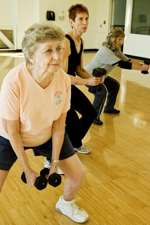 ejercicio jeriatrico