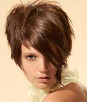 Resultado de imagem para cabelo curto com franja