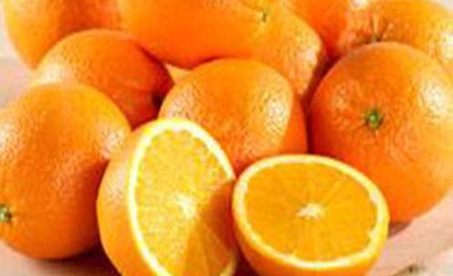 Dieta de alimentos de color naranja