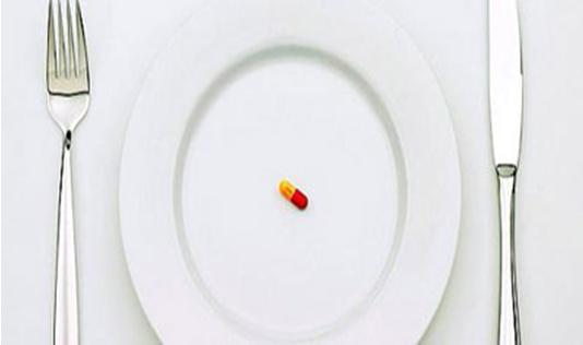 Dietas con píldoras