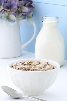 シリアルと牛乳