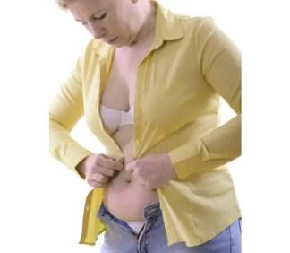 femme qui veut perdre la graisse de son bas ventre