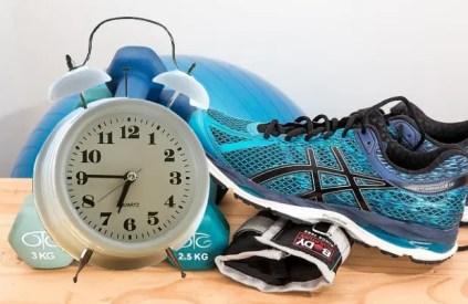 reveil  pour voir l'heure pour faire du sport