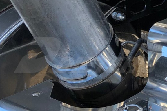 exhaust elbow clamp oem replacement