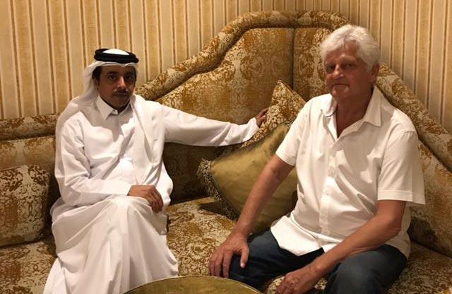 Dieter Wiesner & Ahmed Al Thani 2