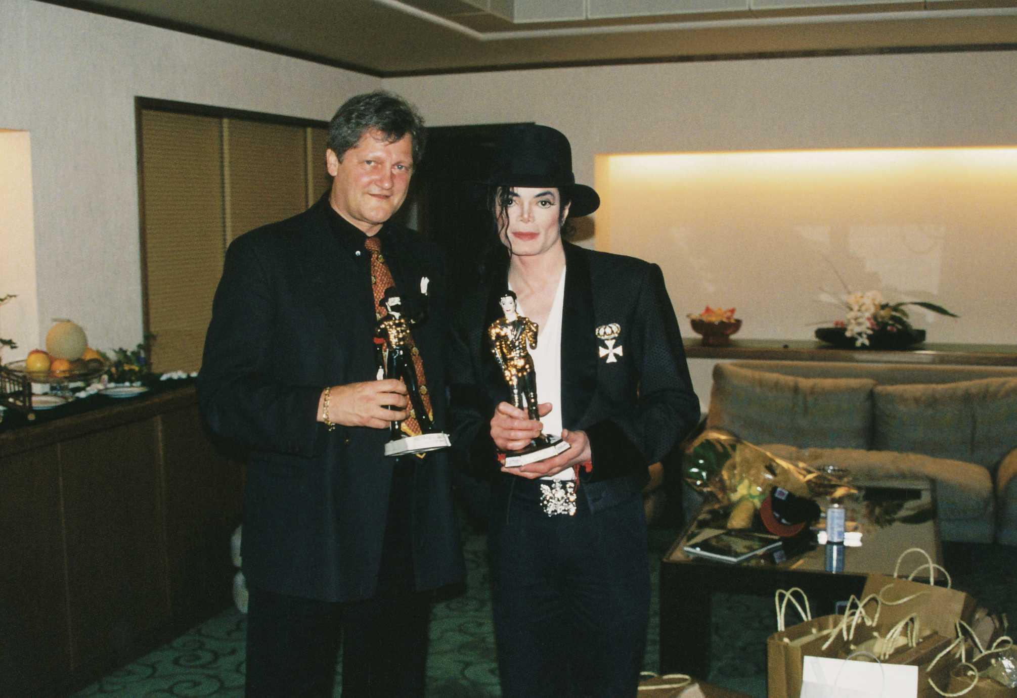 Dieter Wiesner & Michael Jackson 16