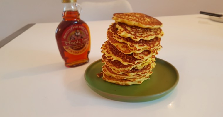Pancakes for coco lovers